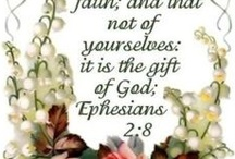 """Scripture / """"Christ the Blessed One gives to all - Wonderful Words of Life"""" / by Martha Miller"""