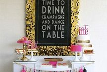New Year's Eve / New Year's Eve decoration ideas, recipes, printables etc. Everything you need to throw a fab New Year's Eve Party!