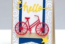 Cards - Balloons, Kites, & Bikes