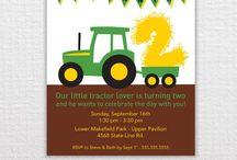 Tractor/John Deere Birthday