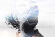 Double Exposure. / A collection of beautiful and inspiring double exposures. / by Kathleen | ScatteredConfetti