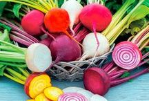 Rainbow Vegetables / A selection of Colourful vegetables you can grow yourself, veg are not all green you know! - All available from Suttons Seeds