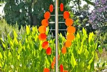 Garden Art Kinetic / Mobiles and other art with movement or the potential for movement being a key feature belong in this category. / by Garden Expressionist