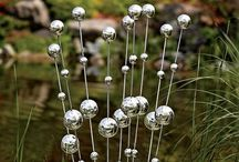 Garden Art for Goodness Stake / Totems, garden stakes and other decorative sticks.  / by Ann Ayers