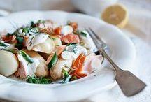 Salads // Sandwiches // Summer Dishes