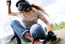 Downhill Skateboarding / Go fast, find lines, hop a sewer, cut alleys and do it every day.