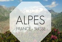 Alpes (France et Suisse) // French and Swiss Alps