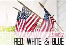 Simply ... Red White & Blue / by Simply Fresh Vintage