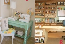Craft Room Ideas / by Simply Fresh Vintage