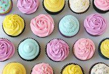 cupcakes / A board full of tasty / beautiful cupcake ideas!
