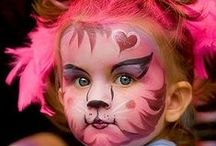 Art: Body Paint / painted faces and bodies / by Shelly Lickliter