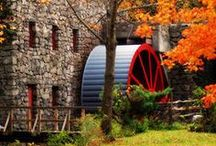 Architecture: Barns, Mills, & Windmills / all things barns, water mills, and wind mills