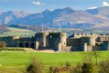 Welsh castles / Photos of the vast number castles that can be found in Wales: http://www.visitwales.com/things-to-do/attractions/castles-heritage/castles / by Wales