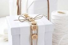 Gift and gift wrapping / by Angie Morgan