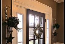 Home - Entry Way / What I would like to do in the entry way to add WOW factor to our builder boring house!