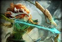 Artemis │Goddess of the Hunt / Armed with a magical bow, Artemis is the unrivaled Goddess of the Hunt! / by SMITE: The Game