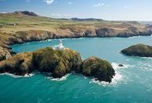 Pembrokeshire / Location of St Davids, Britain's smallest city. With 186 miles of coastal trails and loads of award winning beaches.