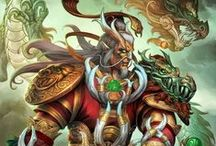 Ao Kuang | Dragon King of the Eastern Seas / Regal, powerful, the Dragon-God of the Eastern Sea commands storms and tides with the flick of a claw, yet he seethes with rage for past humiliations. / by SMITE: The Game