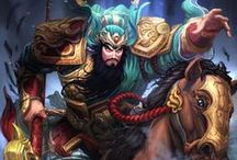 Guan Yu │The Saint of War / As a man, Guan Yu was the embodiment of loyalty, honor, and strength. As a God, he is a guardian of justice, a hero to the downtrodden, the Saint of War. / by SMITE: The Game