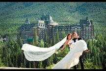 BANFF WEDDINGS / Great shots of Banff Weddings / by ENGAGED films