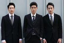 fashionable asian men