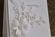 Cards - White on White / by Angie Morgan