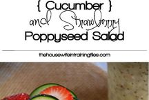 Salads, Dressings, Sides & Snacks / Fresh and delicious! / by Joanne Stecker Butzier