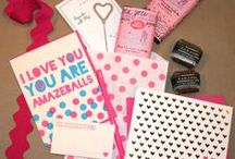 Valentine's Day at Ecru Modern Stationer / Cards and other Valentine-related goodies for your significant other.