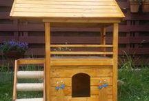 Garden - casute din lemn pentru animalele de companie / O noua gama de produse pentru exterior dedicata animalelor de companie