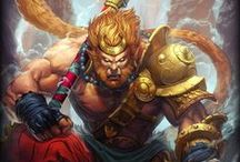 Sun Wukong│The Monkey King / Warrior, rebel, trickster, monk, Sun Wukong is known by many titles in the East, yet it was a Journey to the West that made him a hero.
