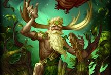 Sylvanus │Keeper of the Wild / It is no coincidence the fields and forests surrounding the Mediterranean are haven to shepherds, farmers, and wildlife. They're guarded by aged Sylvanus, a benevolent spirit of nature, whose glittering eyes and easy grin match the vibrant life that grows in these lands.