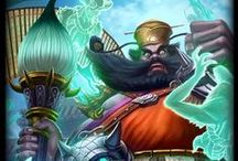 Zhong Kui │The Demon Queller / In this world resides powerful evil, intent on destroying everything crafted by Gods and Men. Without guardians of equal strength, all would have fallen long ago. Zhong Kui was once a man with ambitions no greater than scholastic excellence, but in death became the perfect shield against evil's onslaught.