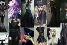 Season of the witch - Oct '15 / All black / dark mood / halloween season