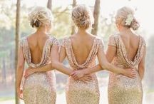 Gorgeous Bridesmaid Dresses / Bridesmaids! Dresses that will take your breath away! #bridesmaid #dresses #maidofhonor #weddings #bridal #davids #bridesmaids