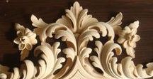 woodcarving / woodcarving, резба по дереву