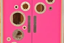Knock Knock on the Colorful Door / Drool worthy doors. / by Jennifer Perkins