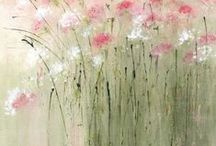 pinks and greens / by Bonnie Tallo