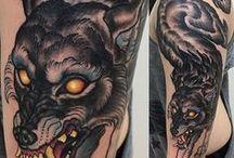 Tattoos / Good tattoos, skillfully applied.
