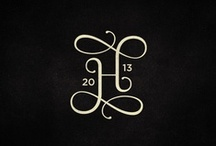 Modern Monograms and Logos / Things I love in the world of monograms and logos...