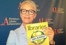People With American Libraries / A collection of celebrities, authors, and others holding American Libraries. Want to join the club? Send your picture to americanlibraries@ala.org and we'll add it to the line-up. / by American Libraries magazine - ALA