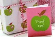 Creative: Teacher Appreciation / Dozens of creative ideas, tutorials, DIYs and inspirations for gifts for teachers