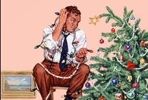 Vintage Christmas / H O  L L Y  J O L L Y...  j o y o u s   n o e l... S t. N i c k... / by Amy Lehman