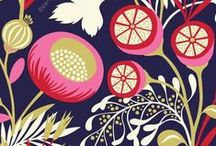 Look: Floral Patterns / A collection of illustrations and graphics involving floral patterns