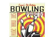 Party Theme: Bowling Party / A collection of crafts, recipes and DIYs for the ultimate bowling-themed party.