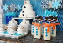 Party Theme: Frozen Themed Party / Crafts, recipes, tutorials, free printables, invitations, and more for the ultimate Frozen themed party.