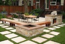 Creative: Outdoor Spaces / A collection of creative ideas for outdoor/garden spaces
