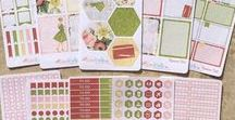 LucKaty on Etsy / My Etsy shop for Planner Stickers for the inkWELL Press Planners!
