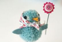 Creative: Bird, Egg, Feather & Nest Crafts / Bird, Egg, Feather and Nest themed craft projects, tutorials and DIYs