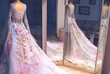 Beautiful Floral Wedding Dresses