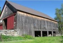 Barns / Barns found around the world. Vintage, historic and antique barns. Farms, homesteads and long forgotten land.